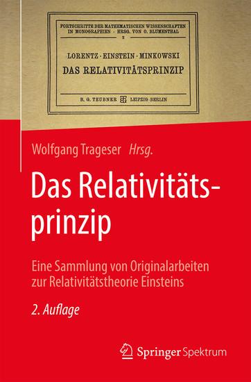 Das Relativitätsprinzip - Blick ins Buch