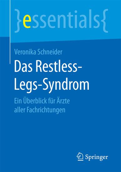 Das Restless-Legs-Syndrom - Blick ins Buch