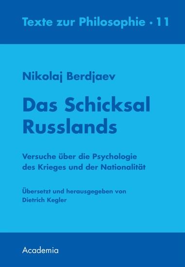 Das Schicksal Russlands - Blick ins Buch