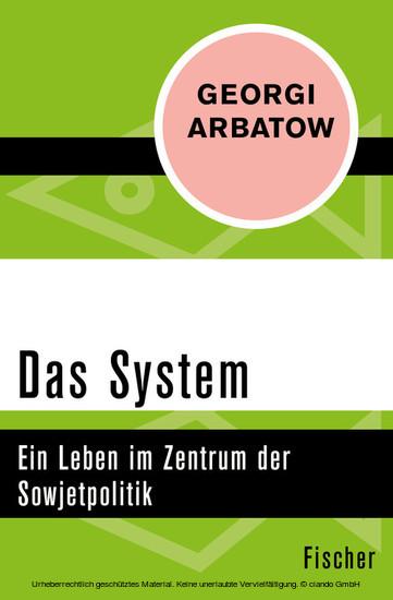 Das System - Blick ins Buch