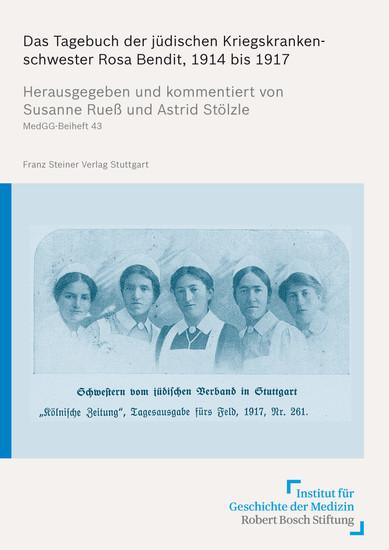 Das Tagebuch der jüdischen Kriegskrankenschwester Rosa Bendit, 1914 bis 1917 - Blick ins Buch