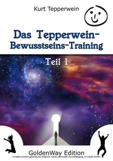 Das Tepperwein Bewusstseins-Training - Band 1 - Blick ins Buch
