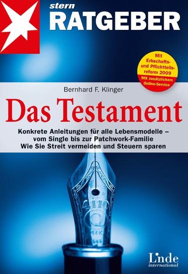 Das Testament - Blick ins Buch