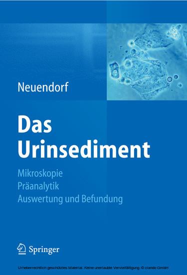 Das Urinsediment - Blick ins Buch