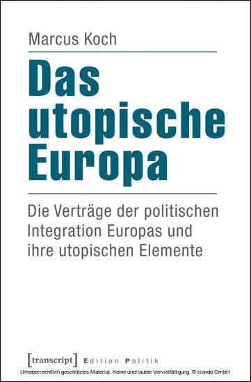 Das utopische Europa - Blick ins Buch
