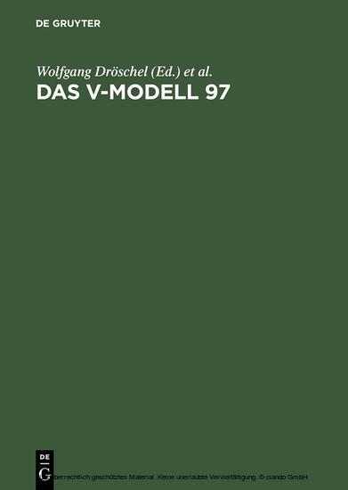 Das V-Modell 97 - Blick ins Buch