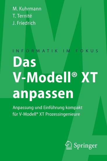 Das V-Modell® XT anpassen - Blick ins Buch