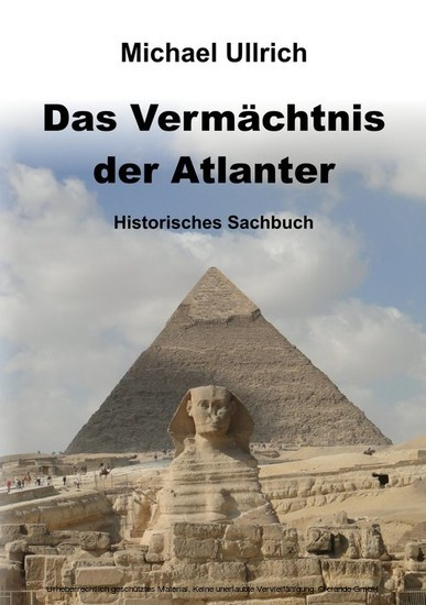 Das Vermächtnis der Atlanter - Blick ins Buch