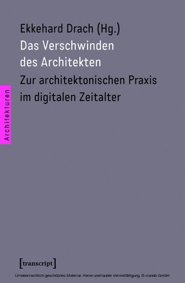 Das Verschwinden des Architekten - Blick ins Buch
