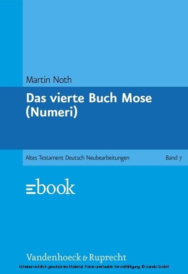 Das vierte Buch Mose - Blick ins Buch