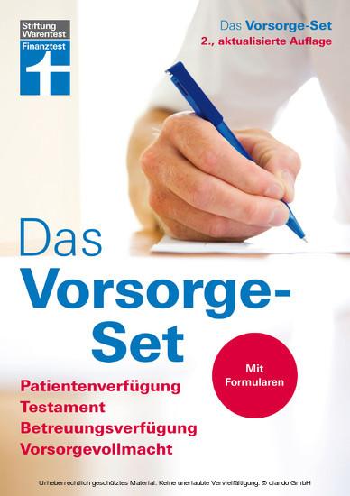 Das Vorsorge-Set - Blick ins Buch