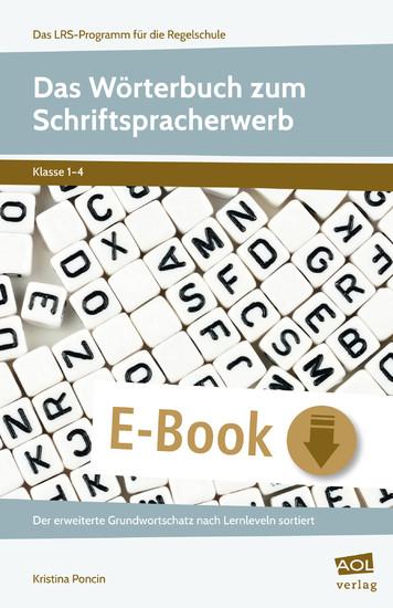 Das Wörterbuch zum Schriftspracherwerb - Blick ins Buch