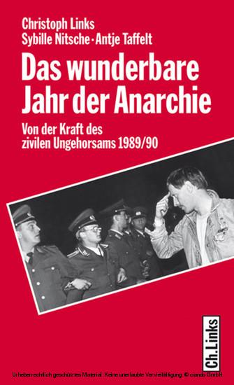 Das wunderbare Jahr der Anarchie - Blick ins Buch