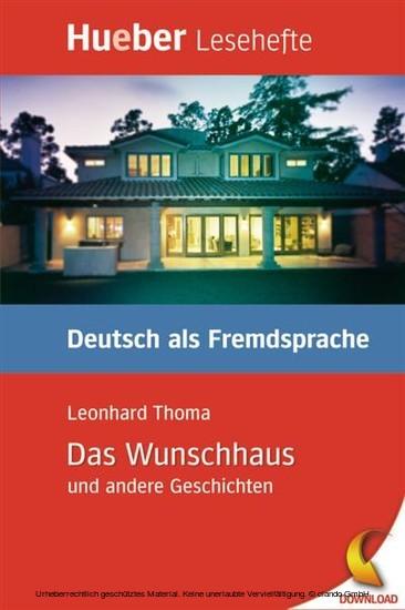 Das Wunschhaus und andere Geschichten - Blick ins Buch