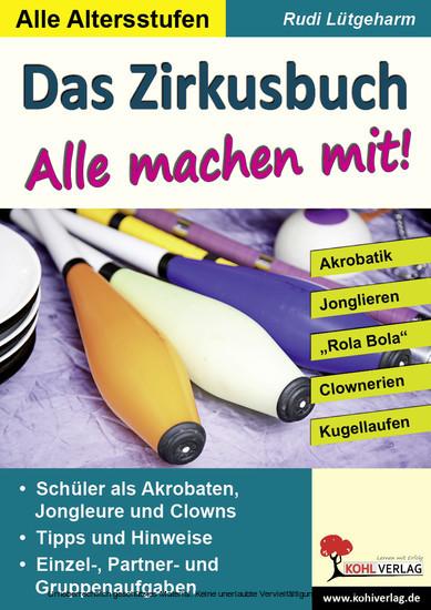 Das Zirkusbuch - Alle machen mit! - Blick ins Buch