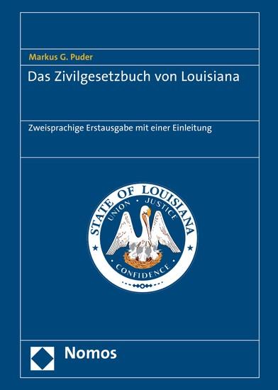 Das Zivilgesetzbuch von Louisiana - Blick ins Buch