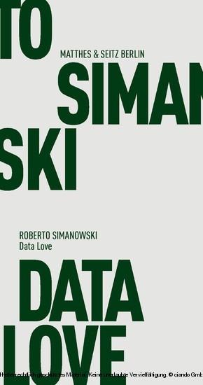 Data Love - Blick ins Buch