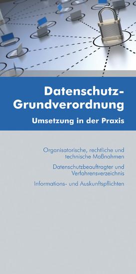 Datenschutz-Grundverordnung (Ausgabe Österreich) - Blick ins Buch