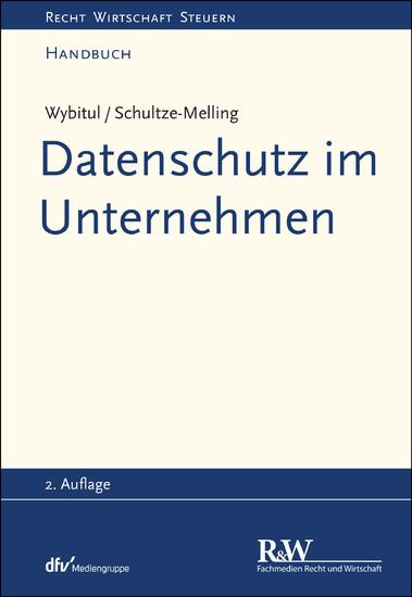 Datenschutz im Unternehmen - Blick ins Buch