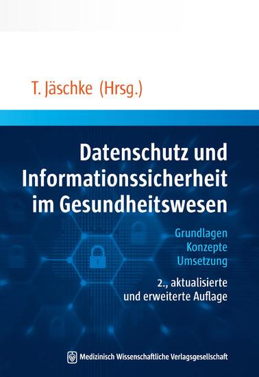 Datenschutz und Informationssicherheit im Gesundheitswesen - Blick ins Buch