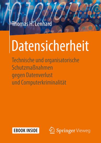 Datensicherheit - Blick ins Buch