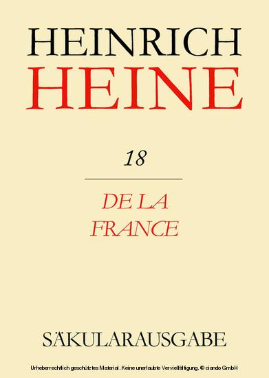 De la France - Blick ins Buch