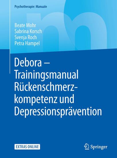 Debora - Trainingsmanual Rückenschmerzkompetenz und Depressionsprävention - Blick ins Buch