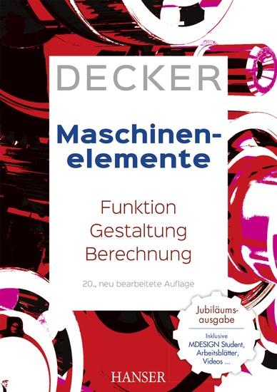 Decker Maschinenelemente - Blick ins Buch