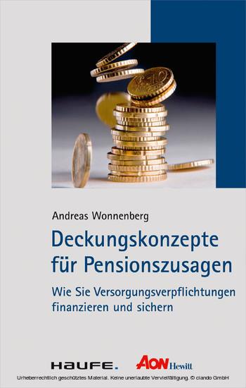 Deckungskonzepte für Pensionszusagen - Blick ins Buch