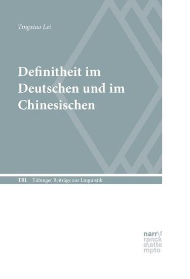 Definitheit im Deutschen und im Chinesischen - Blick ins Buch