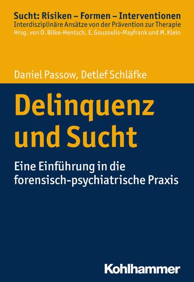 Delinquenz und Sucht - Blick ins Buch