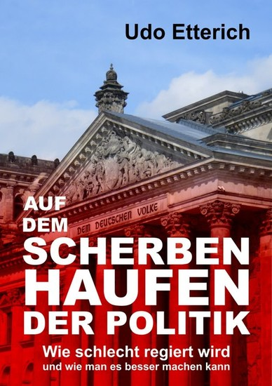 Auf dem Scherbenhaufen der Politik - Blick ins Buch