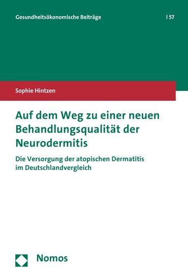 Auf dem Weg zu einer neuen Behandlungsqualität der Neurodermitis - Blick ins Buch