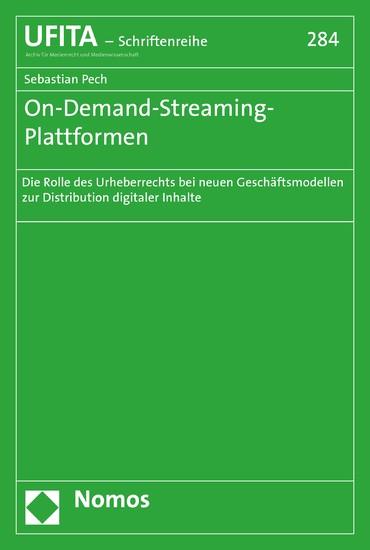 On-Demand-Streaming-Plattformen - Blick ins Buch