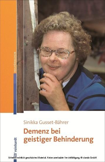 Demenz bei geistiger Behinderung - Blick ins Buch