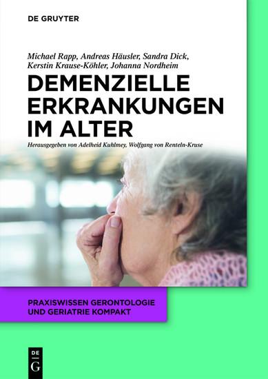 Demenzielle Erkrankungen im Alter - Blick ins Buch