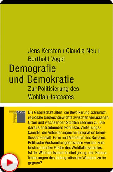 Demografie und Demokratie - Blick ins Buch