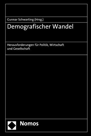 Demografischer Wandel - Blick ins Buch