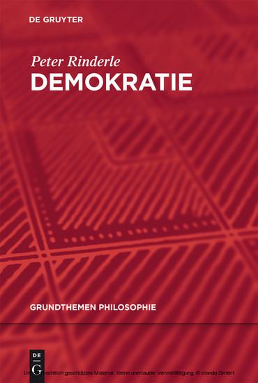 Demokratie - Blick ins Buch