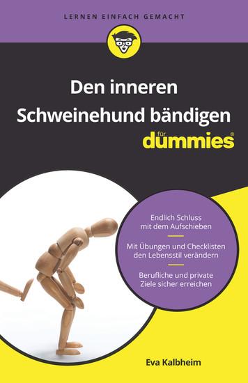 Den inneren Schweinehund bändigen für Dummies - Blick ins Buch