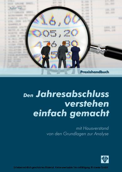 Den Jahresabschluss verstehen einfach gemacht (Ausgabe Österreich) - Blick ins Buch
