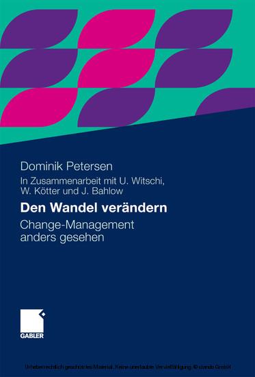 Den Wandel verändern - Blick ins Buch