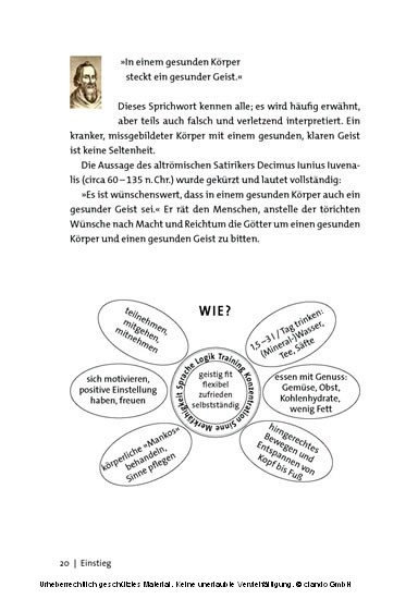 Denkspiele - Blick ins Buch
