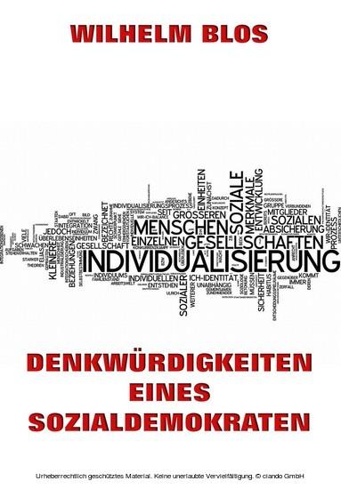 Denkwürdigkeiten eines Sozialdemokraten - Blick ins Buch