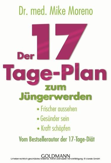 Der 17-Tage-Plan zum Jüngerwerden - Blick ins Buch