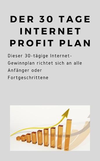 Der 30 Tage Internet Profit Plan - Blick ins Buch