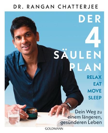 Der 4-Säulen-Plan - Relax, Eat, Move, Sleep - Blick ins Buch