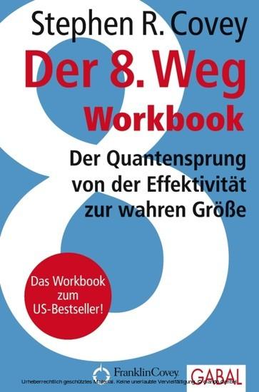 Der 8. Weg Workbook - Blick ins Buch