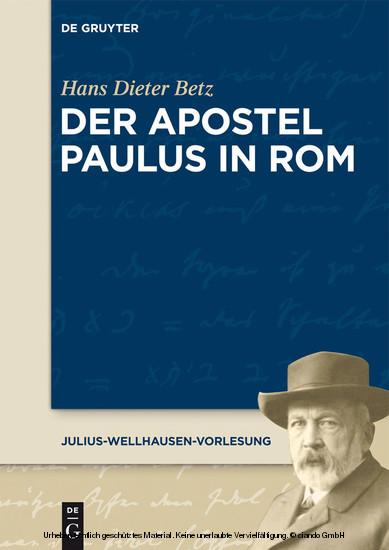 Der Apostel Paulus in Rom - Blick ins Buch