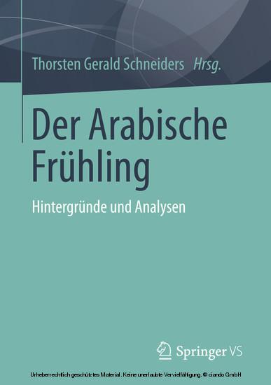 Der Arabische Frühling - Blick ins Buch